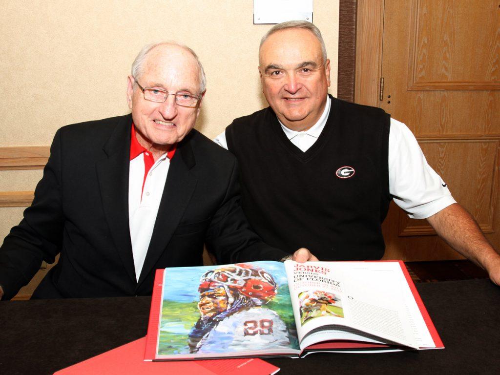 Bud and Coach Dooley